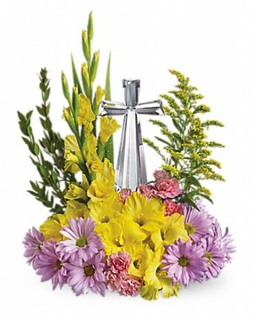 Teleflora Crystal Cross Bouquet