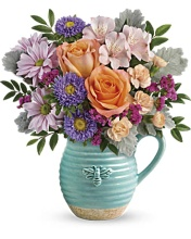 TELEFLORA BUSY BEE PITCHER