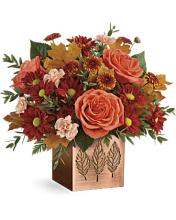 TELEFLORA COPPER PETALS BOUQUET