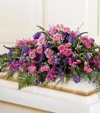 Blanket of Flowers Casket Spray