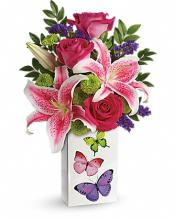 Teleflora Brilliant Butterflies Bouquet