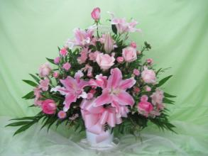 PINK MIX BASKET