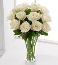 Long Stem White Rose Bouquet
