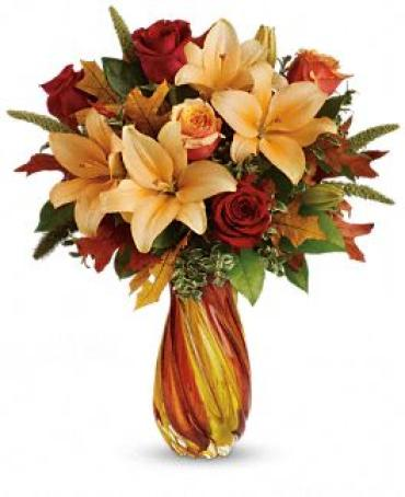 Treasures of Fall Bouquet