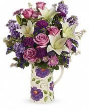 TELEFLORA GARDEN PITCHER BOUQUET